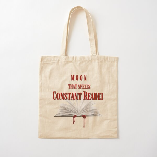 Constant Reader Cotton Tote Bag