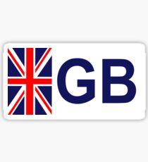 UNION JACK GB STICKER Sticker