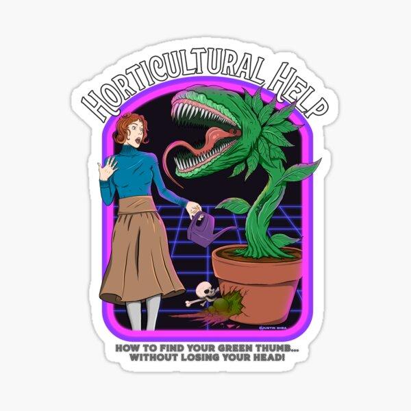Horticultural Help Sticker