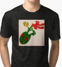 Piranha Plant Hatchling Tri-blend T-Shirt
