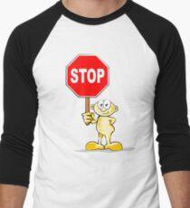 Cartoon with stop sign T-Shirt