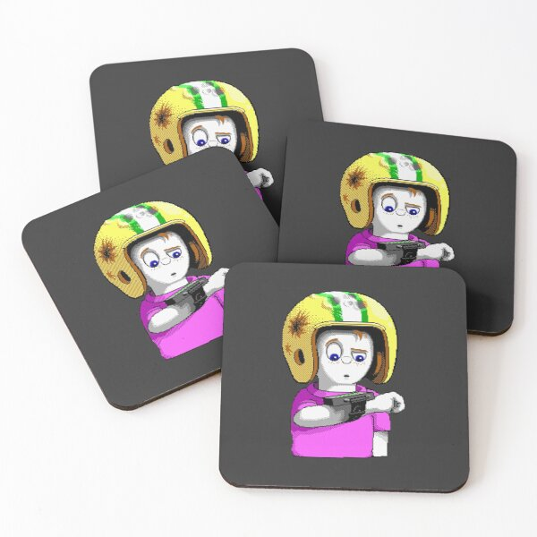 Commander Keen - High Quality Resolution Coasters (Set of 4)