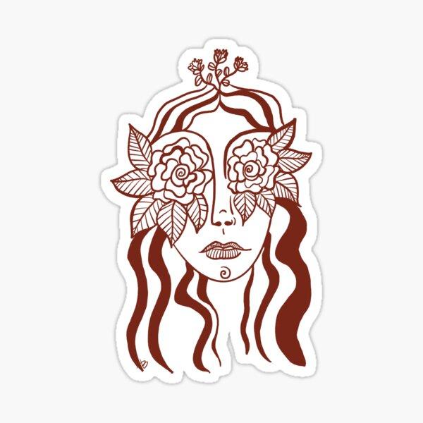 Rose Vision Sticker