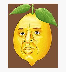 Wenn das Leben dir Zitronen gibt Fotodruck