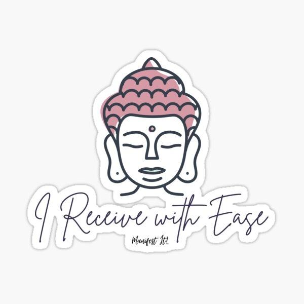 Manifest It! Buddha Sticker