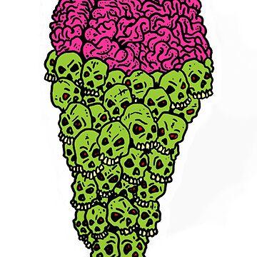 Skull Scream Cone by SHyde