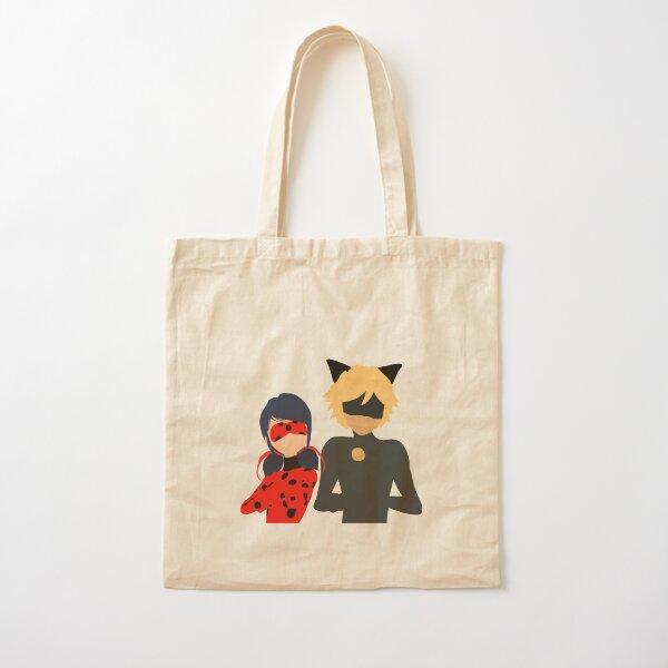 LadyNoir Cotton Tote Bag