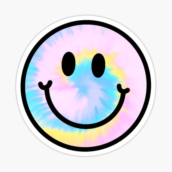 Pastel Tie Dye Sticker