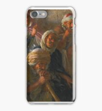 ETIENNE DINET  FRENCH AUDIENCES ADMIRING DANCER iPhone Case/Skin
