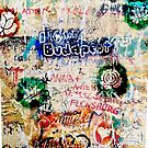 Graffiti Szimpla I Love Budapest by Andrea Beloque
