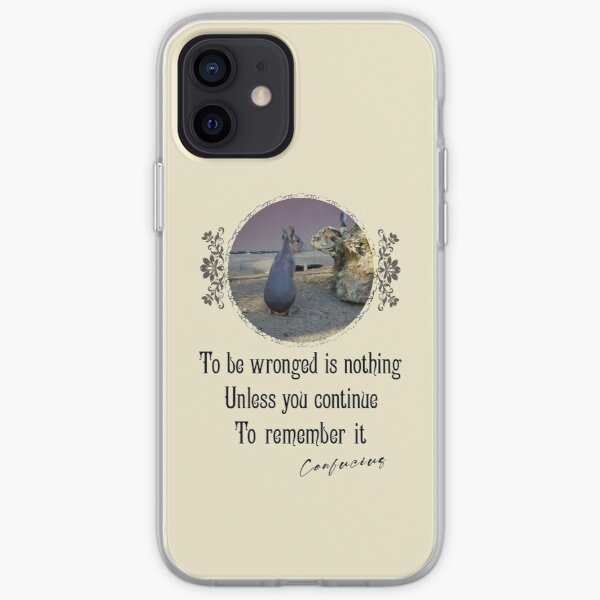 To Be Wrong Is Nothing Unless You Continue To Remember It- Impactful Positive Motivational iPhone Soft Case