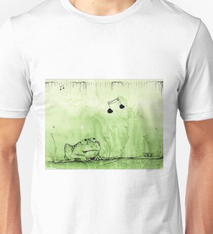 Hungry Frog - Swamp Music T-Shirt