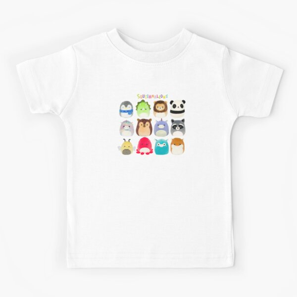 Squishmallows - Collection Animals Kids T-Shirt
