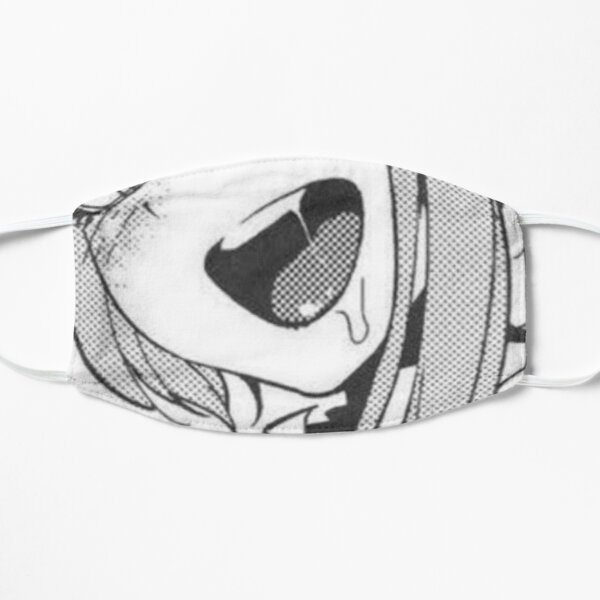 ahegao Masque sans plis