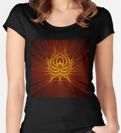 Alien Spider Fitted Scoop T-Shirt