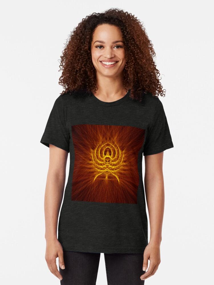 Alternate view of Alien Spider Tri-blend T-Shirt