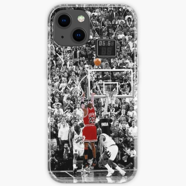 Michael Jordan Shot Over Russell iPhone Soft Case