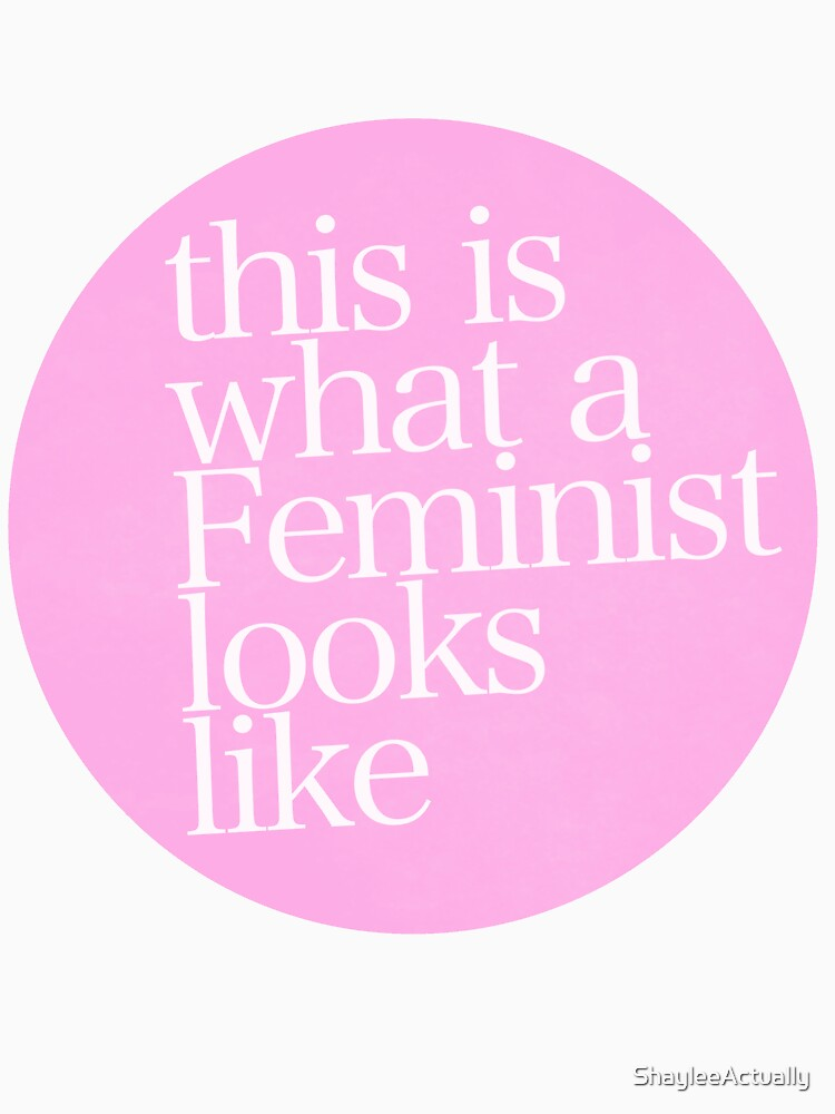 TShirtGifter presents: this is what a feminist looks like | Unisex T-Shirt