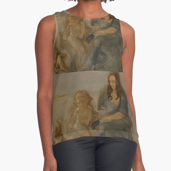 Allegory of the Moon Sleeveless Top