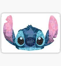 Pegatina Stitch Geometric (Lilo y Stitch)