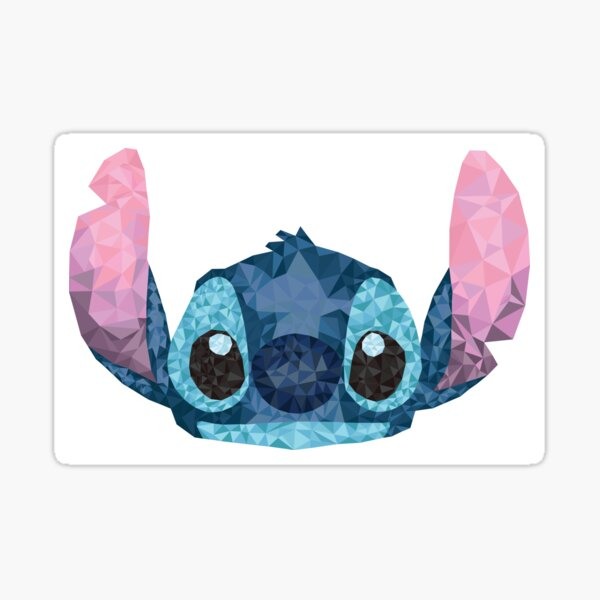Stitch Geometric (Lilo and Stitch) Sticker
