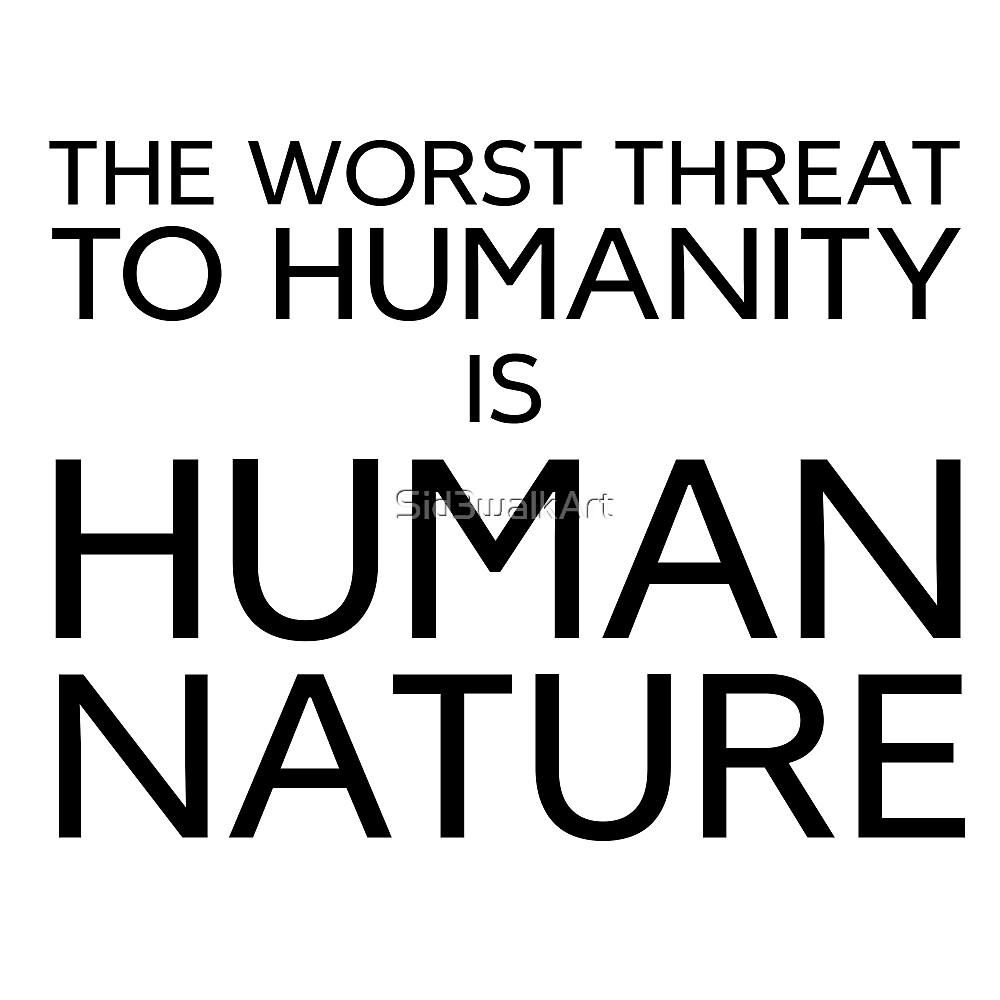 Humanity Political Philosophy Protest Evil by Sid3walkArt