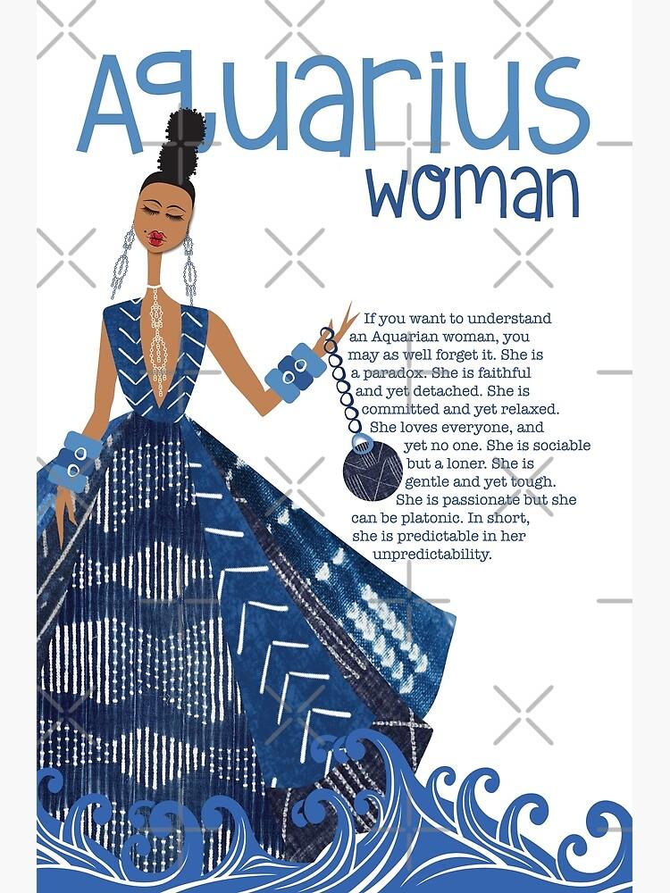 Aquarius Woman by 6256design
