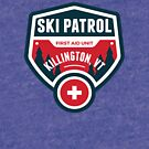 KILLINGTON VERMONT Skiing Ski Patrol Mountain Art by MyHandmadeSigns