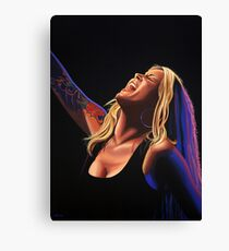 Anouk in concert Painting Canvas Print