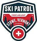 SKIING STOWE VERMONT Skiing Ski Patrol Mountain Art by MyHandmadeSigns