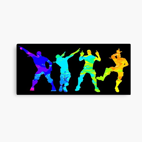 Battle Royale Victory Justice Dance Impression sur toile