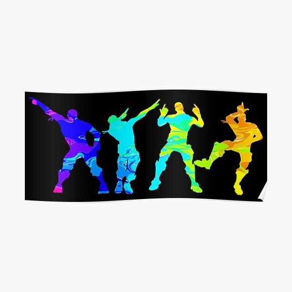 Battle Royale Victory Justice Dance Poster