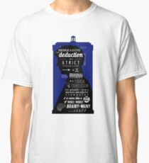 Wholock - A Study in Deduction Classic T-Shirt