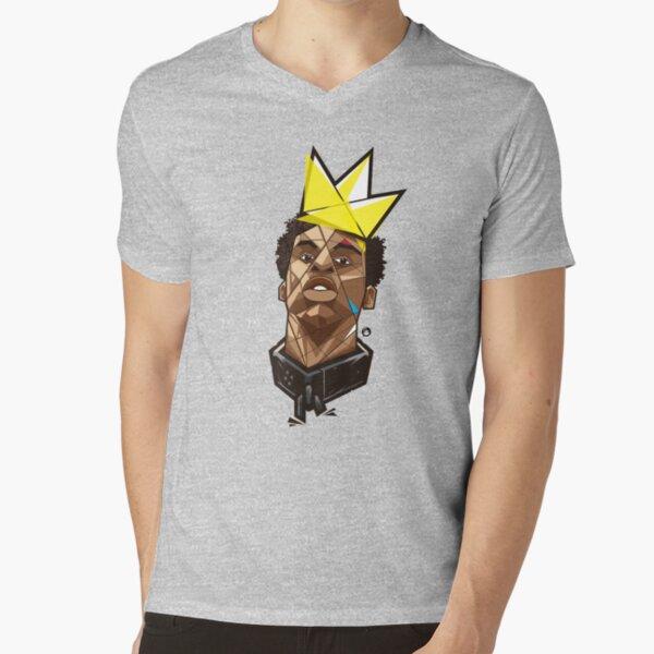 King Kunta - Kendrick Lamar V-Neck T-Shirt