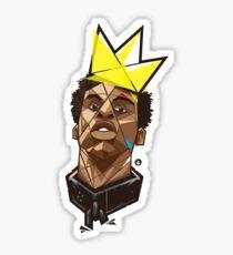 King Kunta - Kendrick Lamar Glossy Sticker