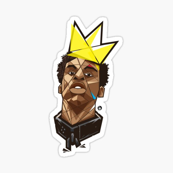 King Kunta - Kendrick Lamar Sticker