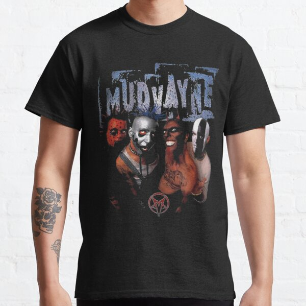 mudvayne banda heavy metal mudvayne mudvayne mudvayne Camiseta clásica