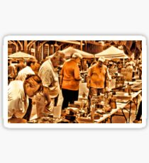 """The 8th Annual Clinch River Spring Antique Fair ""... prints and products Sticker"