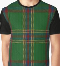 00344 Westmeath District Tartan  Graphic T-Shirt