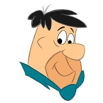 Sketchbook Series: Fred Flintstone by bslatky