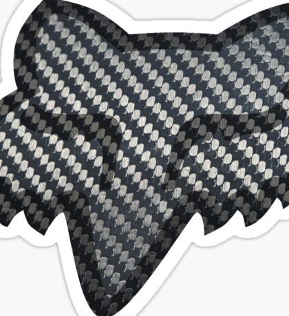 Fox Racing Carbon Fiber Sticker