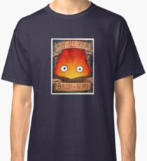 Howl's Moving Castle Illustration - CALCIFER (original)  Classic T-Shirt