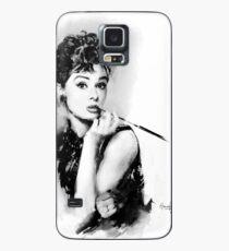Audrey Hepburn Case/Skin for Samsung Galaxy
