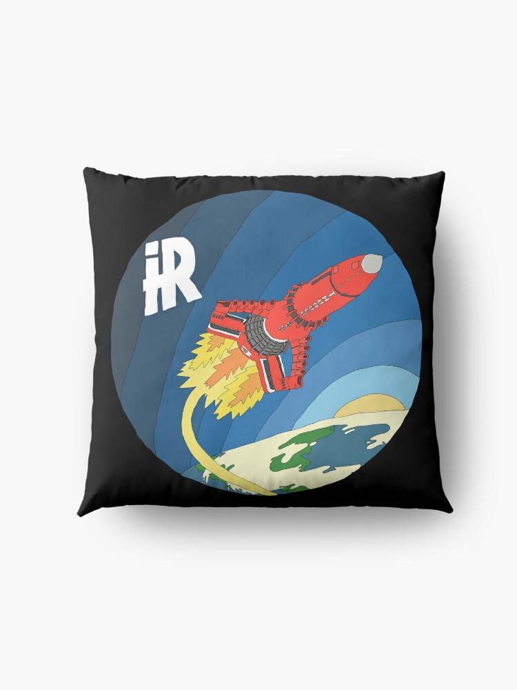 Alternate view of Thunderbirds Are Go - Thunderbird 3 In Space Floor Pillow