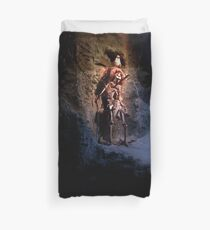 They do tell tales  Duvet Cover