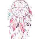 Dreamcatcher in Pink by CobyLyn