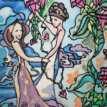 Wedding dance by narrowboatexp