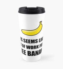 Free Banana Travel Mug