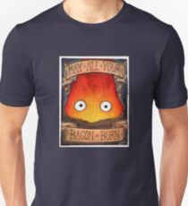 Studio Ghibli Illustration: CALCIFER #2 T-Shirt