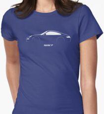 997 brushstroke design Women's Fitted T-Shirt